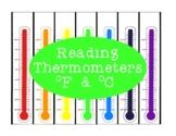 Reading Thermometers PDF Measurement Celsius Fahrenheit Di