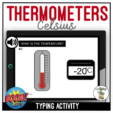 Reading Thermometers Celsius Typing Boom Cards