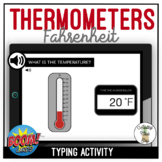 Reading Thermometers Fahrenheit Typing Boom Cards
