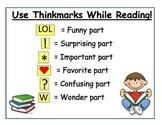 Reading Thinkmarks Poster