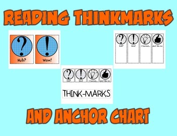 Reading Thinkmarks and Anchor Chart