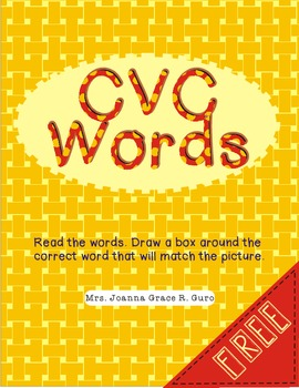 Reading Three-Letter Words Exercises (CVC Words)