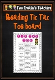 Reading Tic Tac Toe Board