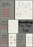 Reading Tic Tac Toe Game