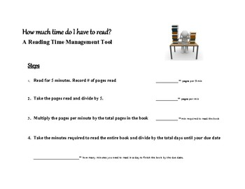 Reading Time Management Tool
