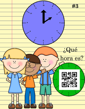 ¿Qué hora es? Reading Time QR Codes - to the hour