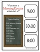 Time & Schedule Task Clip Cards for Special Education Life Skills Vocational