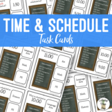 Time & Schedule Task Clip Cards
