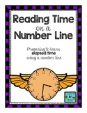Reading Time on a Number Line