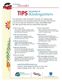 Reading Tip Sheets / Letters for Parents in English (Colorin Colorado / AFT)