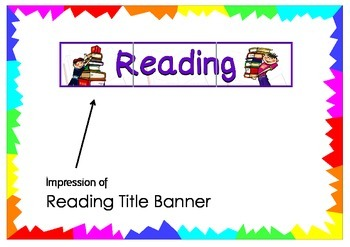 Reading Title Banner