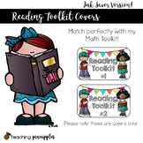 Reading Toolkit Covers: Labels to Help Organize Reading Ma