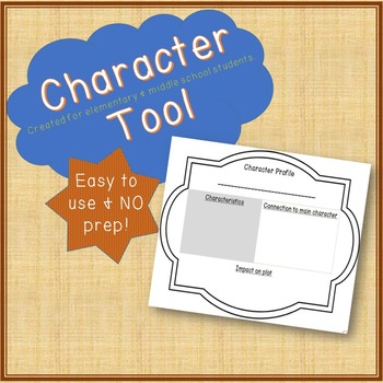 Reading Tools...Spelling & Vocabulary, Predictions, Inquiry, Characters & Notes