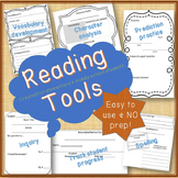 Reading Tools...Spelling & Vocabulary, Predictions, Inquir