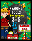 4th Grade Reading Comprehension: Activities Bundle: Reading Workshop: 3rd & 5th