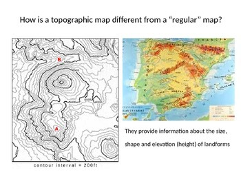 Reading Topographic Maps By AProtonicPointofView TpT - Reading topographic maps