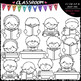 Reading Topper Kids - Clip Art & B&W Set