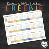 Reading Level Tracker Freebie
