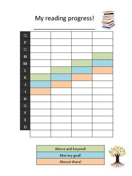 Reading Tracker for Second Grade