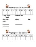 Reading Trackers SPANISH 1st grade