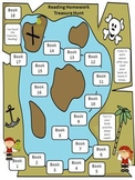 Reading Treasure Hunt - Building Accuracy and Fluency - Reading Incentive