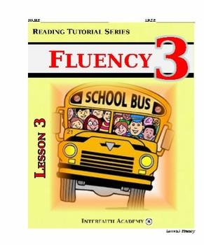 Reading Tutorial Series: Fluency Grade 3 (Student Workbook)