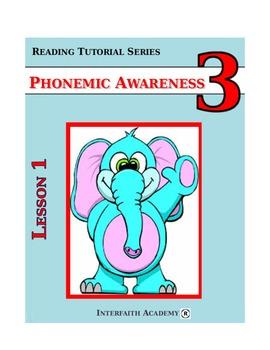 Reading Tutorial Series:Phonemic Awareness Grade 3 (Student Workbook)