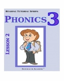 Reading Tutorial Series:Phonics Grade 3 (Student Workbook)
