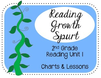 Reading Unit 1 2nd Grade Reading Growth Spurt Charts & Teaching Points