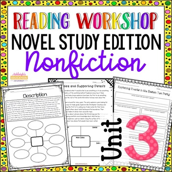 Reading Unit 3 - Novel Study Edition