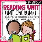 Reading Units Third Grade Unit One Bundle