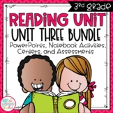 Reading Units Third Grade Unit Three Bundle