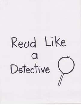 Reading Units of Study Anchor Chart: Read Like a Detective