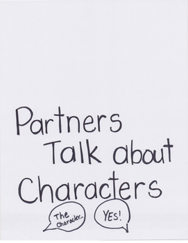 Reading Units of Study Anchor Chart: Readers Get To Know Characters