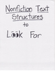 Reading Units of Study If...Then Unit Nonfiction Book Clubs Anchor Chart 1