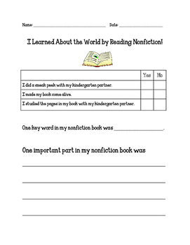 Reading Units of Study Learning About the World Assessment
