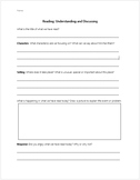 Reading Universal Questions - Character, Setting, Problem
