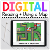 Reading + Using Maps Digital Activity | Distance Learning