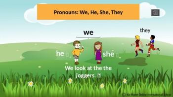 Reading Gr 1: Phonics, Grammar: Using ed ending on common verbs: L 2 Wk 4