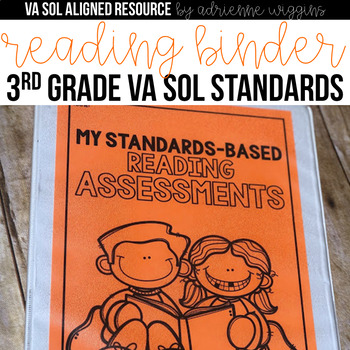Reading VA SOL Standards-Based Assessments 3rd Grade