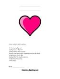 Reading Valentine Unit