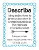 Reading Verb Explanation & Synonym Poster Set