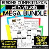 Reading Visually Comprehension MEGA Growing BUNDLE