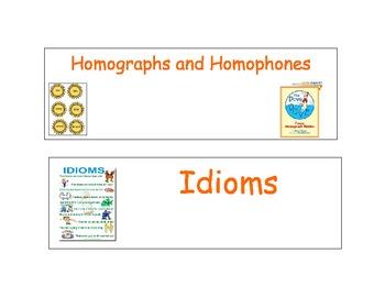 Reading Vocabulary Cards