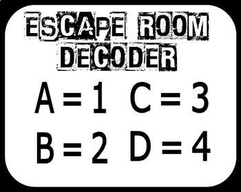 Reading Vocabulary Escape Room - Middle School - Test Prep