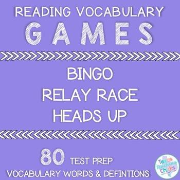 Reading Vocabulary Games