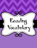 STAAR Reading Vocabulary