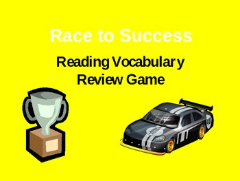 Reading Vocabulary Review Game