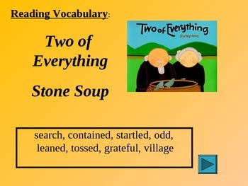 Reading Vocabulary Two of Everything