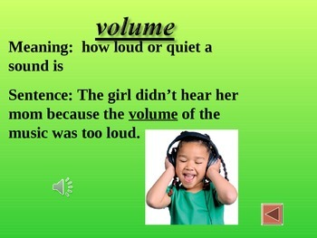 Reading Vocabulary for Ah, Music!